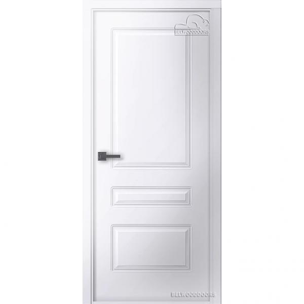 Дверь межкомнатная Эмалированная Belwooddoors Модель Роялти 2. Эмаль белая
