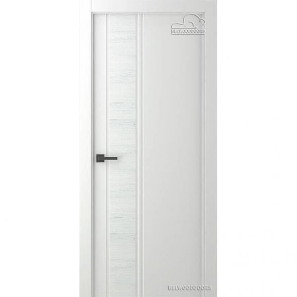 Дверь межкомнатная Эмалированная Belwooddoors Модель Твинвуд 1. Эмаль белая
