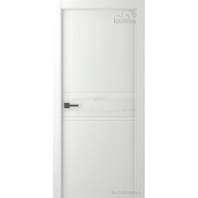Дверь межкомнатная Эмалированная Belwooddoors Модель Твинвуд 2. Эмаль белая