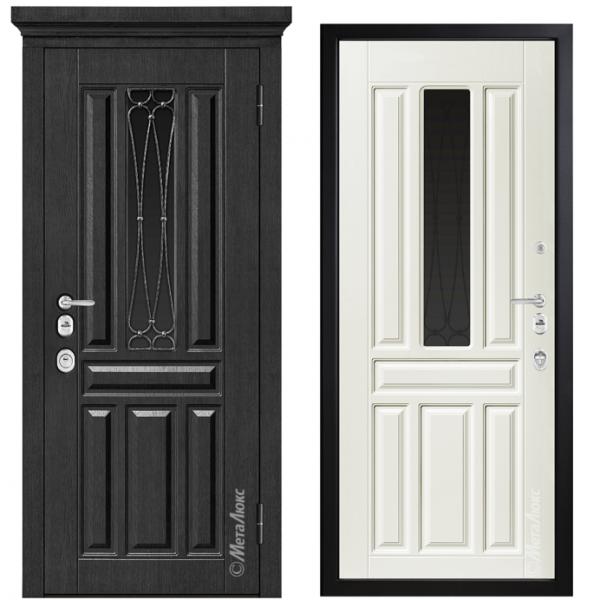 Дверь входная Металюкс ArtWood М1711/24