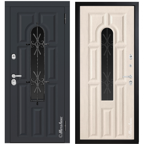 Дверь входная металюкс Гранд М370/12