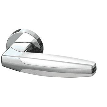 Ручка раздельная ARC URB2 CP-CP-White-14 Хром-хром-белый