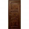 Межкомнатная дверь шпонированная дубом Лоза Карл 3 ДГ
