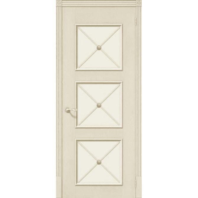Межкомнатная дверь шпонированная дубом Лоза Карл 3