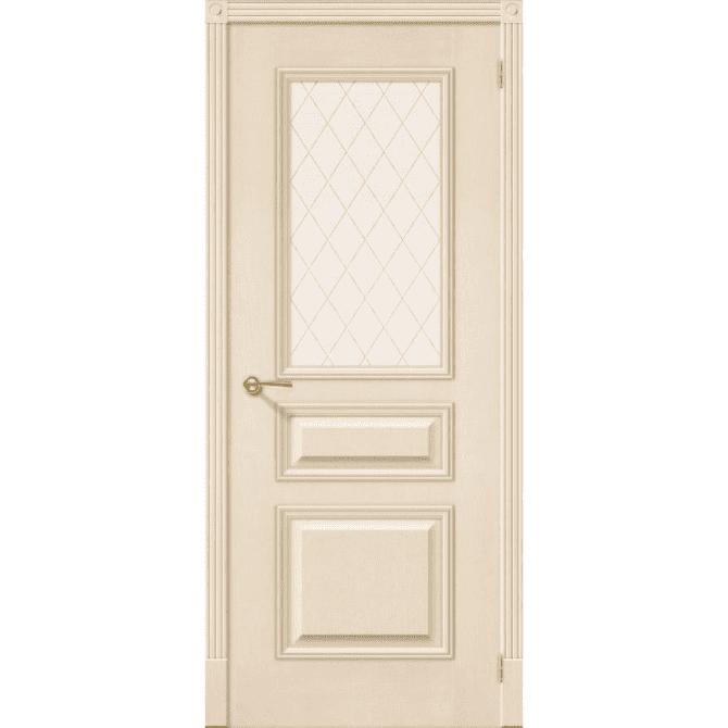 Межкомнатная дверь шпонированная дубом Лоза Лондон