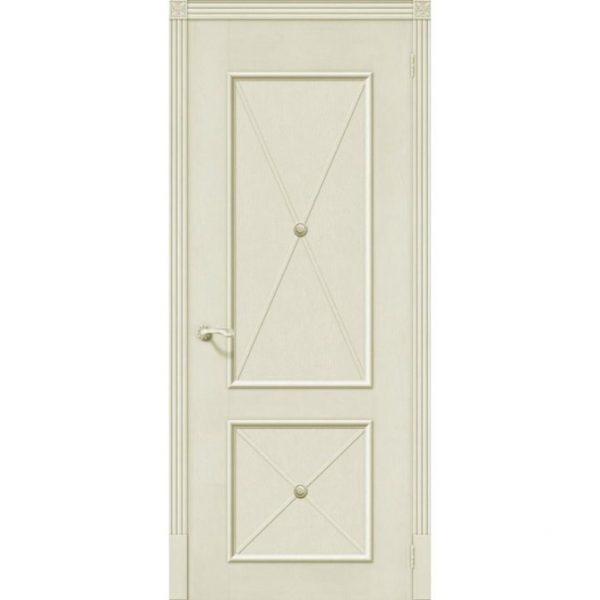 Межкомнатная дверь шпонированная дубом Лоза Луи ДГ