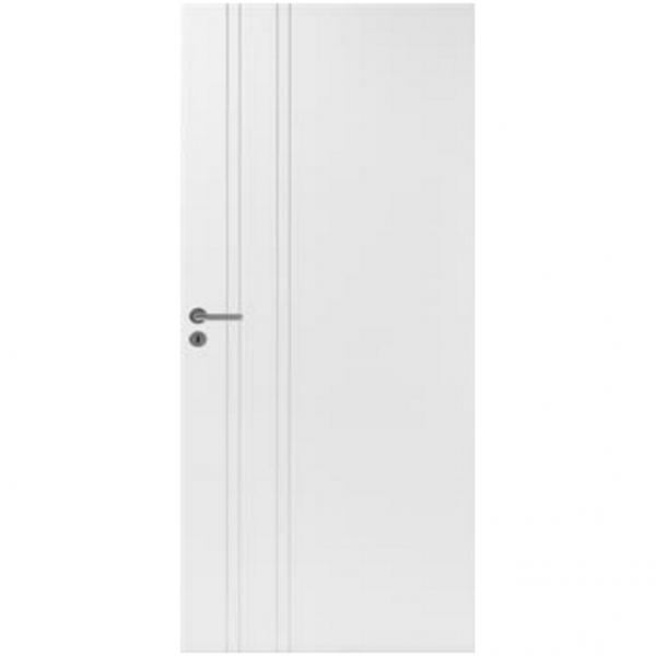 Межкомнатная дверь шпонированная дубом Лоза Стандарт Line 2
