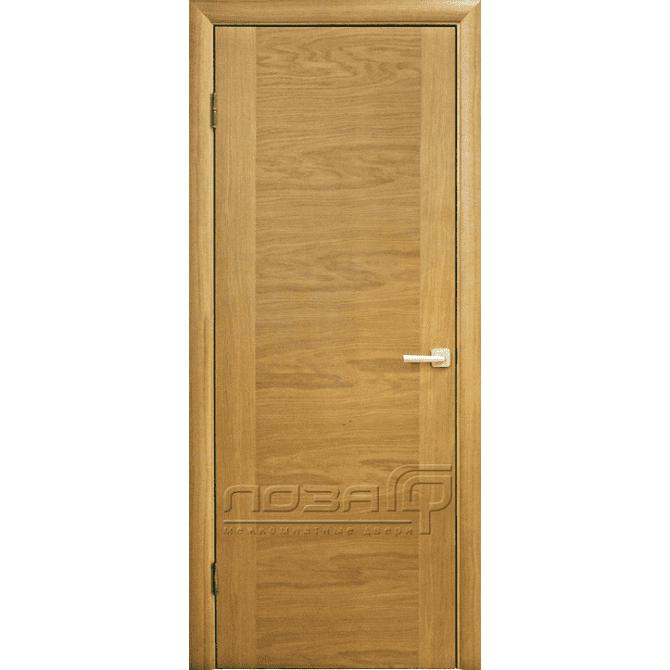 Межкомнатная дверь шпонированная дубом Лоза Стандарт
