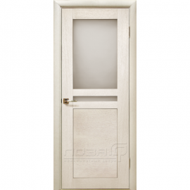 Межкомнатная дверь шпонированная дубом Лоза Виола-1