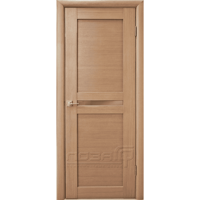 Межкомнатная дверь шпонированная дубом Лоза Виола-2
