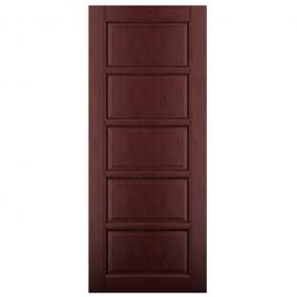 Дверь межкомнатная из массива ольхи Дорвуд. Модель 1 ДГ Махагон