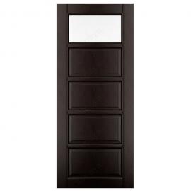 Дверь межкомнатная из массива ольхи Дорвуд. Модель 1 ДЧ Венге