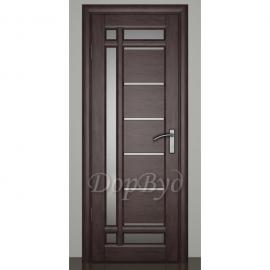 Дверь межкомнатная из массива ольхи Дорвуд. Модель 10 ДО Венге
