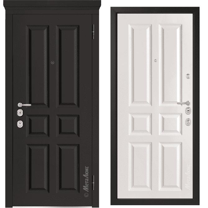 Дверь входная Металюкс MILANO М1001/10 E