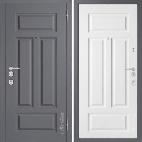 Дверь входная Металюкс MILANO М1002/5 E