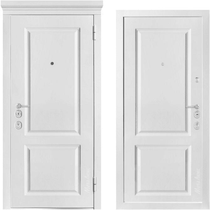 Дверь входная Металюкс MILANO М1003/7 E