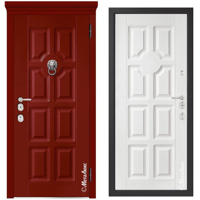 Дверь входная Металюкс MILANO М1007/49 E