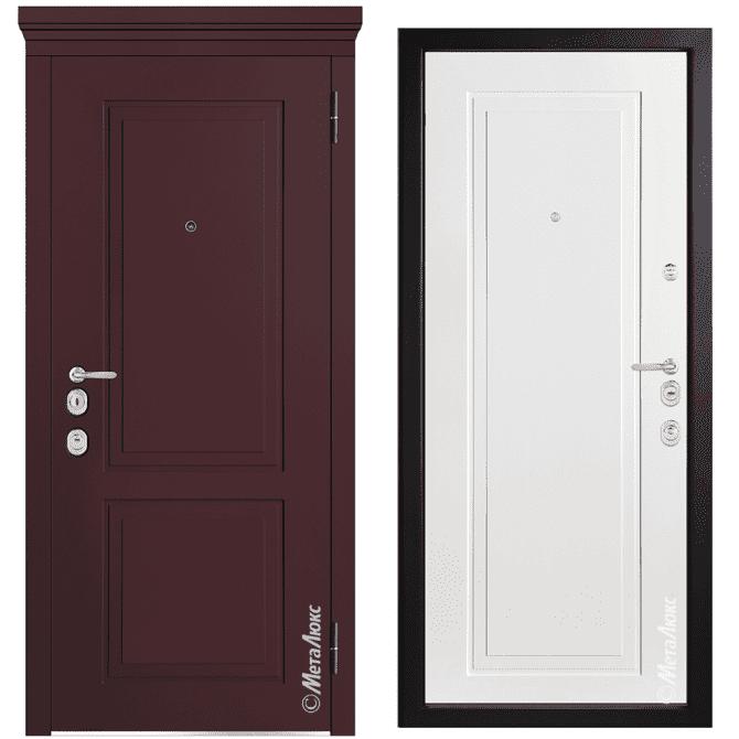 Дверь входная Металюкс MILANO М1009/14 E