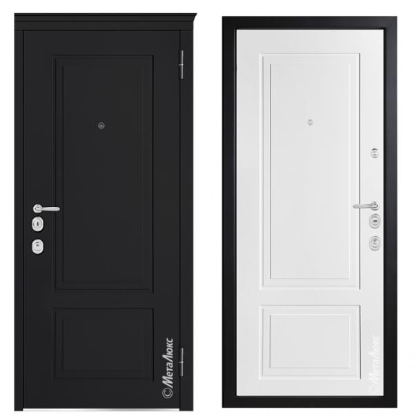 Дверь входная Металюкс MILANO М1013/8 E