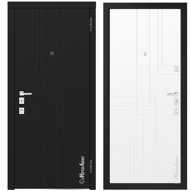 Дверь входная Металюкс MILANO М1102/8 E