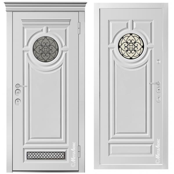Дверь входная Металюкс MILANO СМ1208/7 E