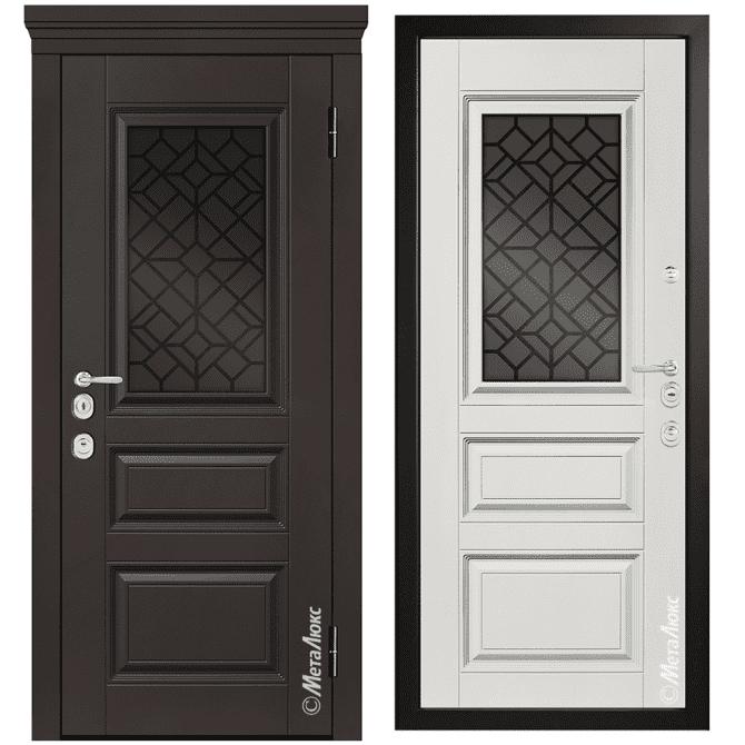 Дверь входная Металюкс MILANO СМ1254/1 E