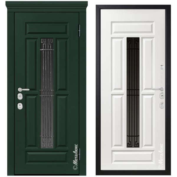 Дверь входная Металюкс MILANO СМ1262/29 E