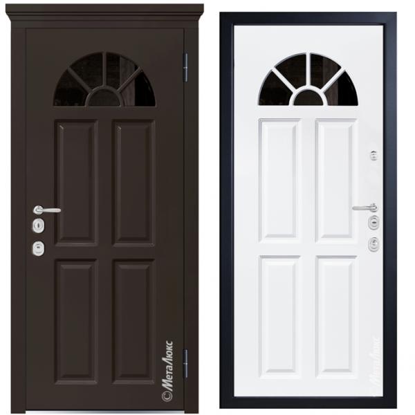 Дверь входная Металюкс MILANO СМ1268/2 E
