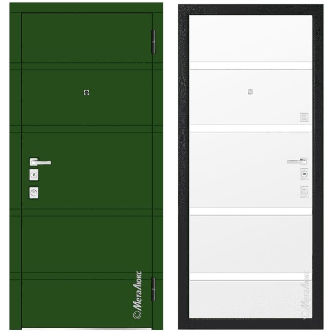 Дверь входная Металюкс MILANO М1300/27 E