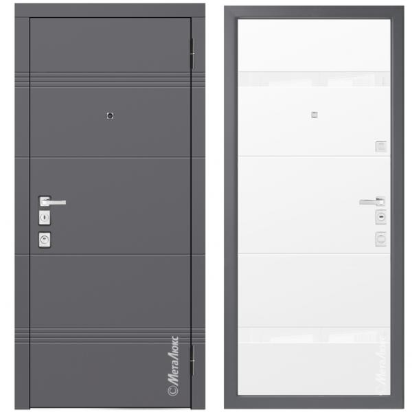Дверь входная Металюкс MILANO М1301/5 E