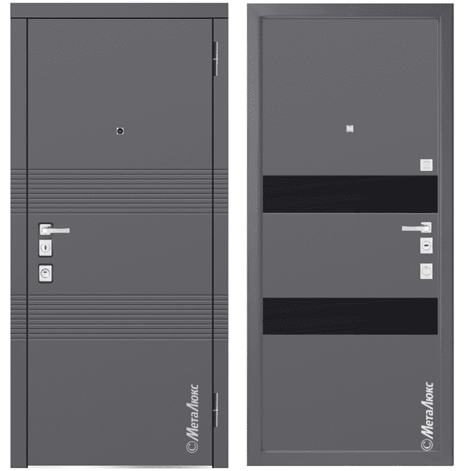 Дверь входная Металюкс MILANO М1302/3 E