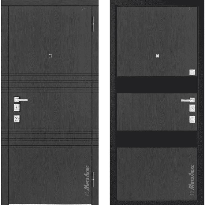 Дверь входная Металюкс MILANO М1302/4