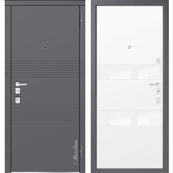 Дверь входная Металюкс MILANO М1302/5 E
