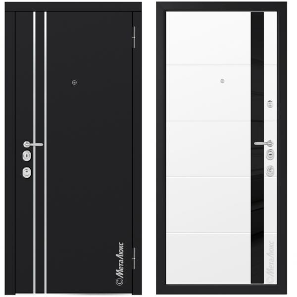 Дверь входная Металюкс MILANO М1303/8 E