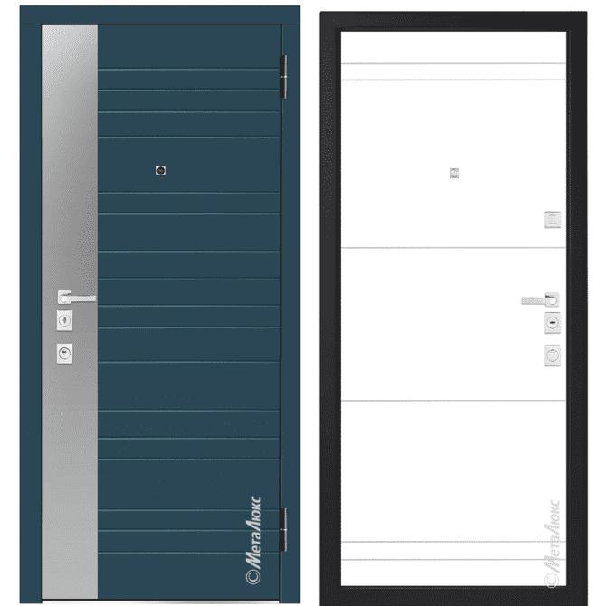 Дверь входная Металюкс MILANO М1405/17 E