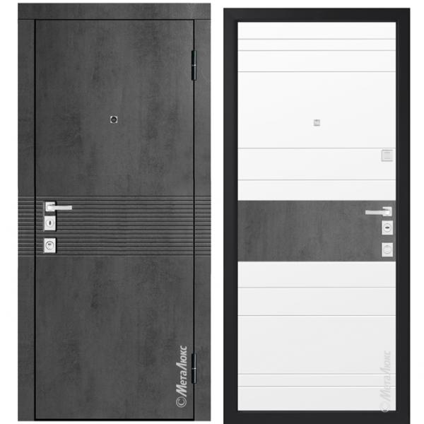 Дверь входная Металюкс MILANO М1408