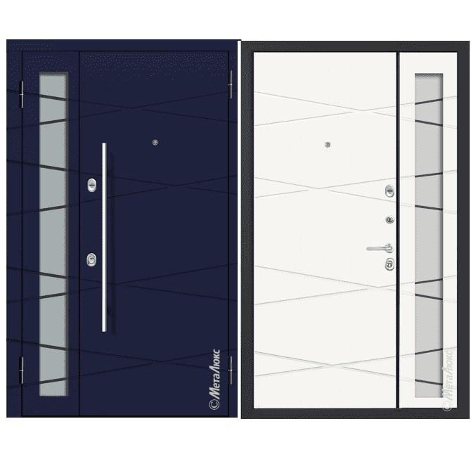 Дверь входная Металюкс MILANO СМ1500/38 E