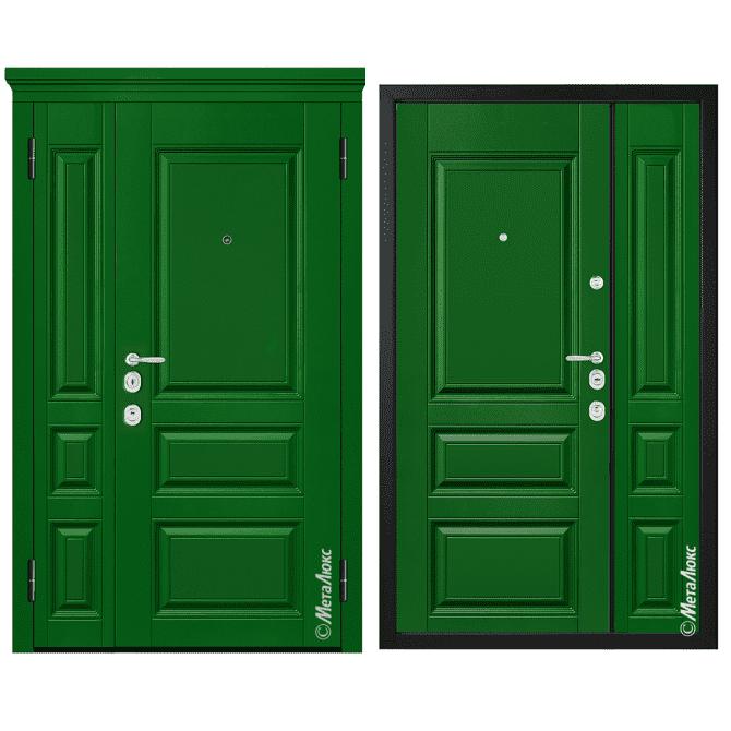 Дверь входная Металюкс MILANO М1504/28 E