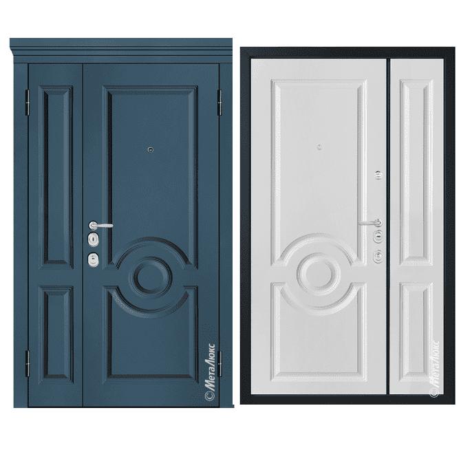 Дверь входная Металюкс MILANO М1505/17 E