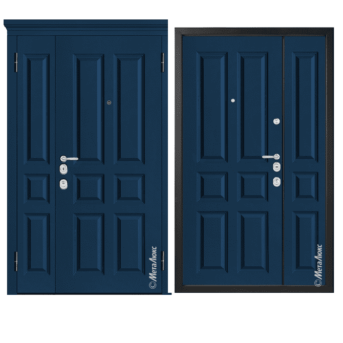 Дверь входная Металюкс MILANO М1506/40 E