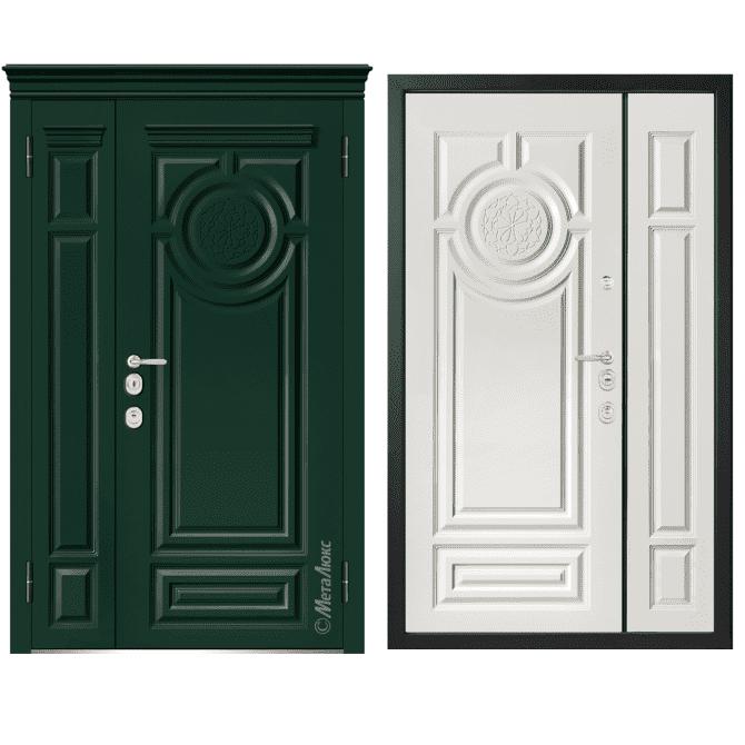 Дверь входная Металюкс MILANO М1508/29 E