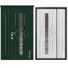 Дверь входная Металюкс MILANO М1523/30 E