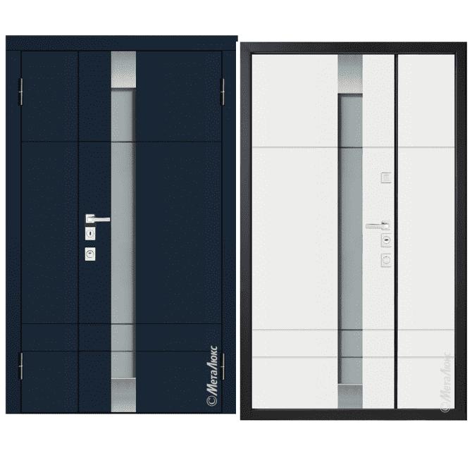 Дверь входная Металюкс MILANO СМ1527/38 E