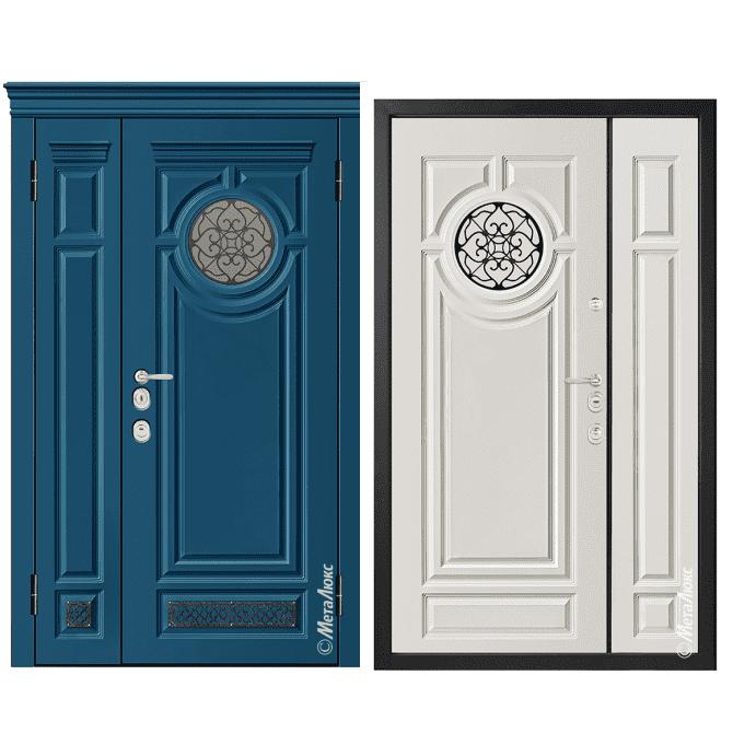 Дверь входная Металюкс MILANO М1528/16 E