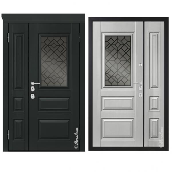 Дверь входная Металюкс MILANO СМ1554/46 E