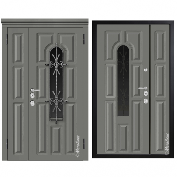 Дверь входная Металюкс MILANO СМ1560/43 E