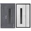 Дверь входная Металюкс MILANO СМ1562/5 E