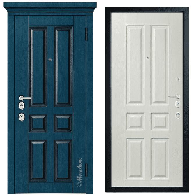 Дверь входная Металюкс ArtWood М1701/40