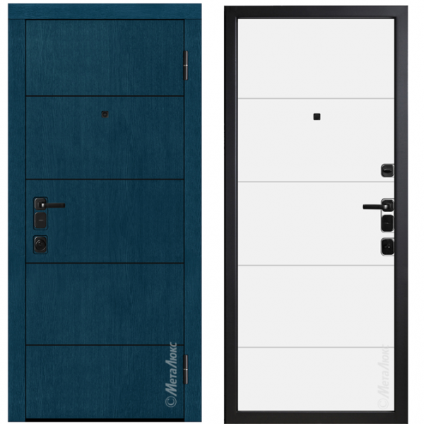Дверь входная Металюкс ArtWood М1702/46 Е2