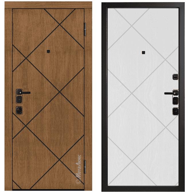 Дверь входная Металюкс ArtWood М1723/29